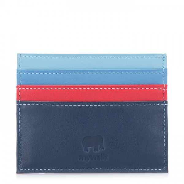 RFID Double Sided Credit Card Holder Royal