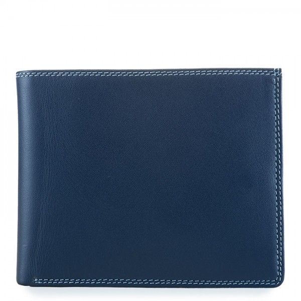 RFID Large Men's Wallet w/Britelite Royal