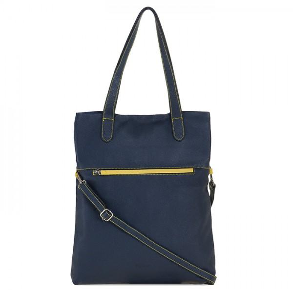 Sac Shopper Venezia Bleu