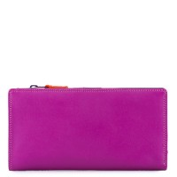 12 CC Zip Wallet Sangria Multi
