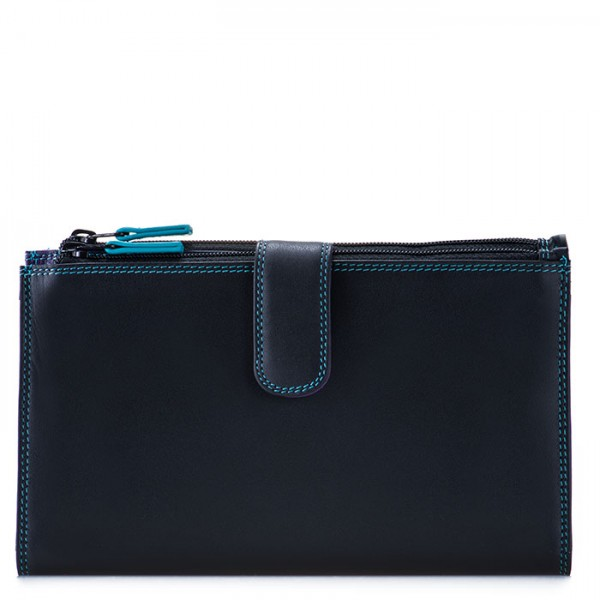 Double Zip Organiser Black Pace
