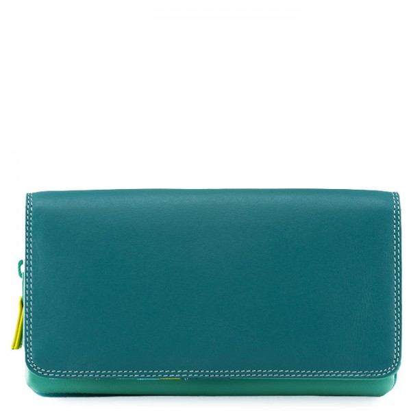 Flapover Wallet with Coin Section Mint