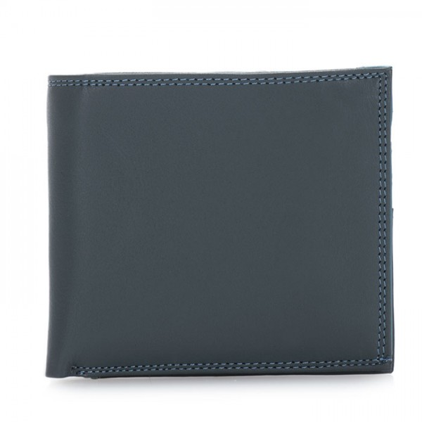 Classic Wallet w/Zip Section Smokey Grey