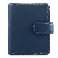 Tri-fold Tab Wallet Royal