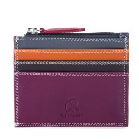 Credit Card Holder w/Zip Pocket Chianti