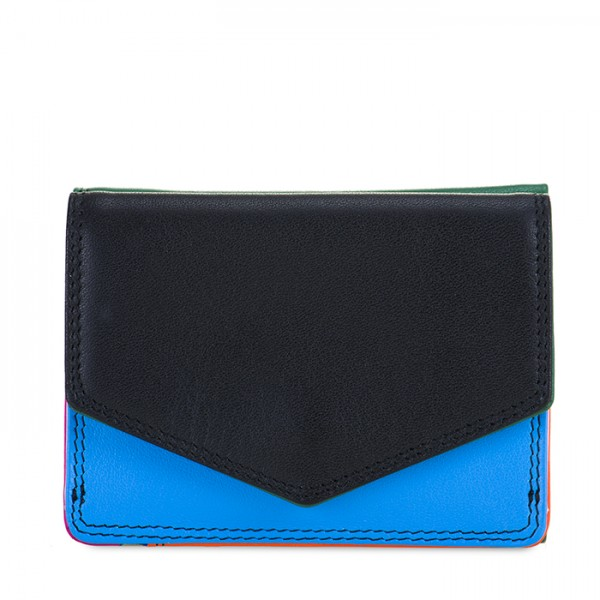 Tri-fold Leather Wallet Burano