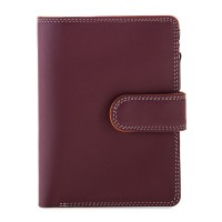 Medium Snap Wallet Chianti