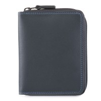 Men's Coin Tray Wallet Smokey Grey