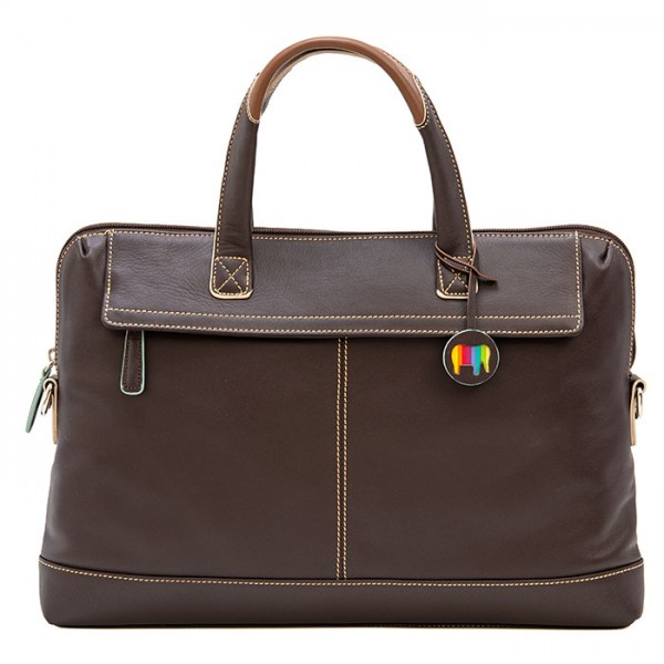 Slim Office Workbag Mocha