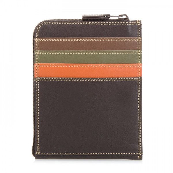 Zip Around CC Holder/Wallet Safari Multi