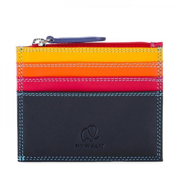 Credit Card Holder w/Zip Pocket Black Pace