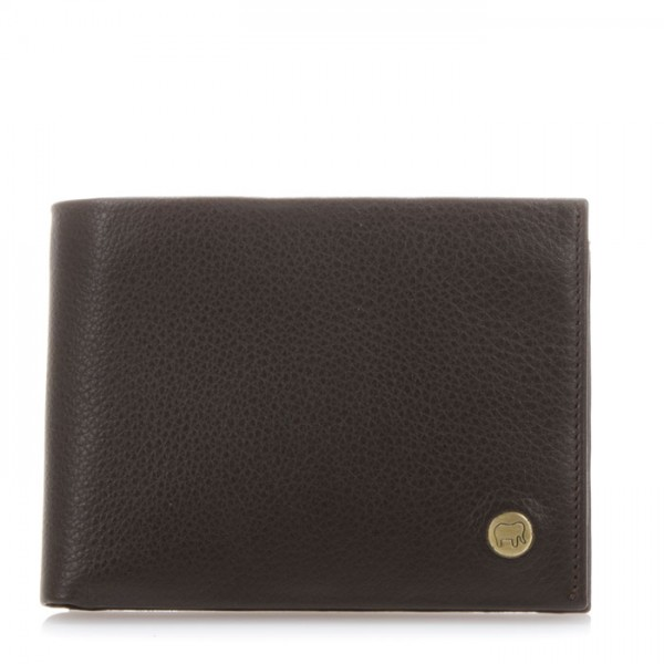 Panama Wallet with Coin Pocket Brown