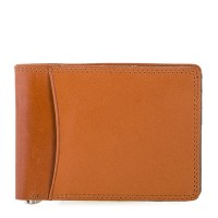 RFID Slim Money Clip Wallet Tan-Olive