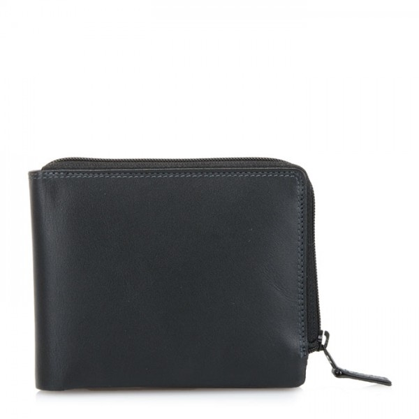 Zip Around Men's Wallet Black Pace