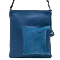 Havana Large Crossbody Denim