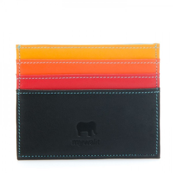 RFID Double Sided Credit Card Holder Black Pace
