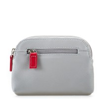 RFID Large Coin Purse Grey
