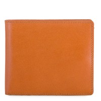 RFID Large Men's Wallet with Britelite Tan-Olive