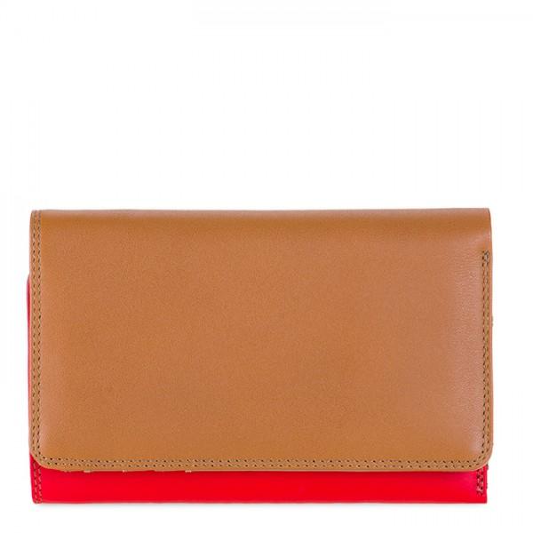 Medium Tri-fold Wallet Caramel