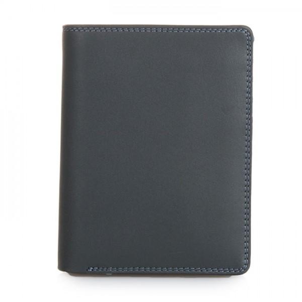 Wallet w/inner Leaf & Coin Pocket Smokey Grey