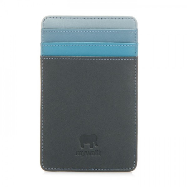 N/S Credit Card Holder Smokey Grey