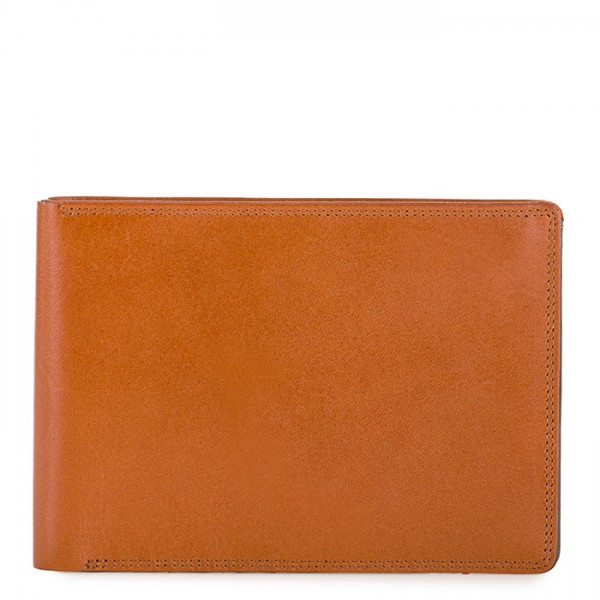 RFID Men's Passport Wallet Tan-Olive