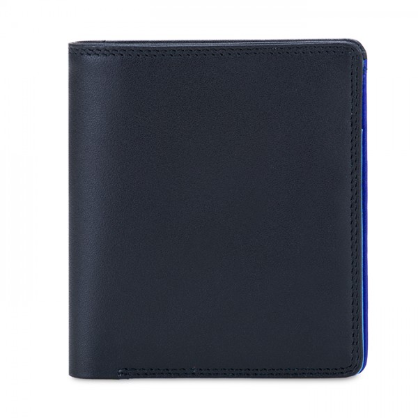 RFID Men's Bi-fold with Pull Out Tab Nappa Burano