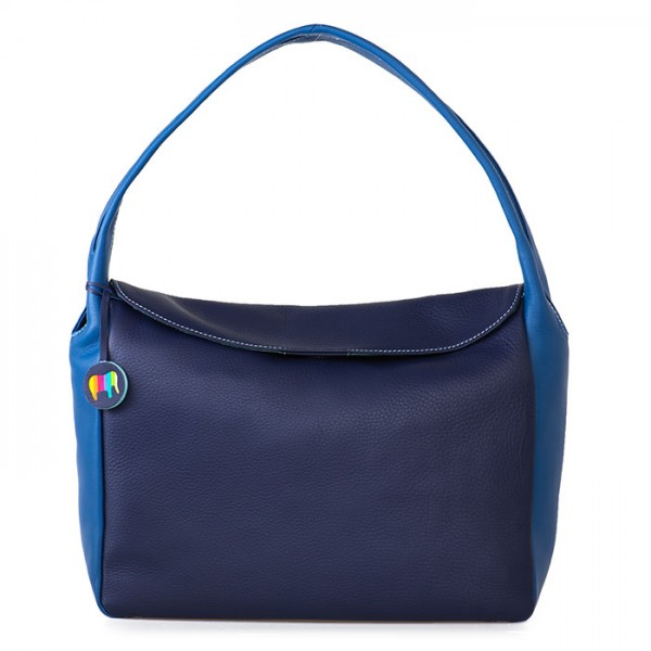 Lima Twin Handle Hobo Navy