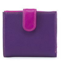 Tab and Flap Wallet Sangria Multi