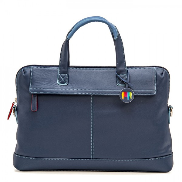 Slim Office Workbag Royal
