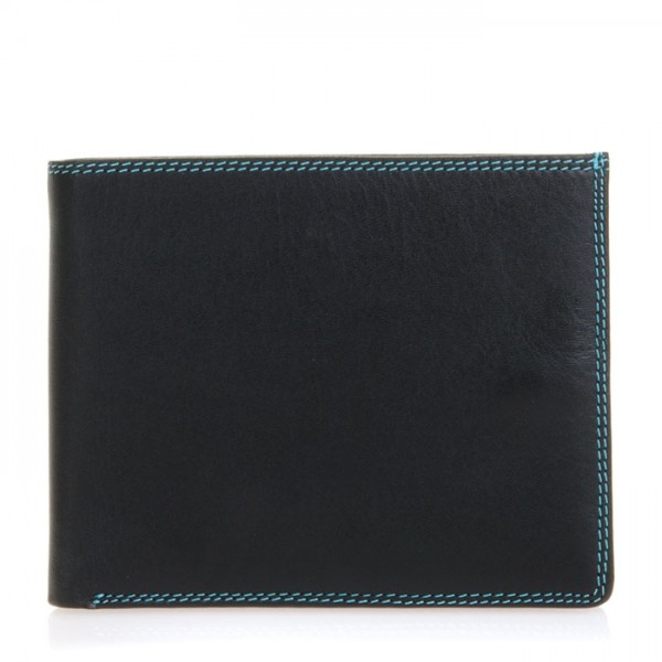 RFID Large Men's Wallet w/Britelite Black Pace