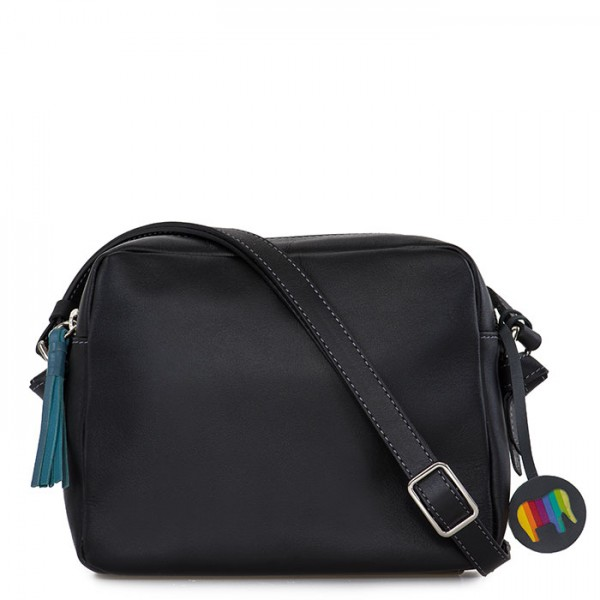 Bruges Camera Bag Black Smokey Grey