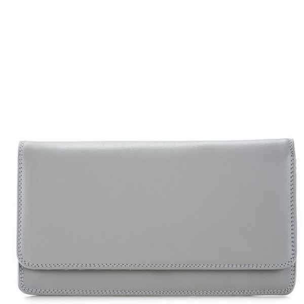 RFID Medium Matinee Wallet Grey