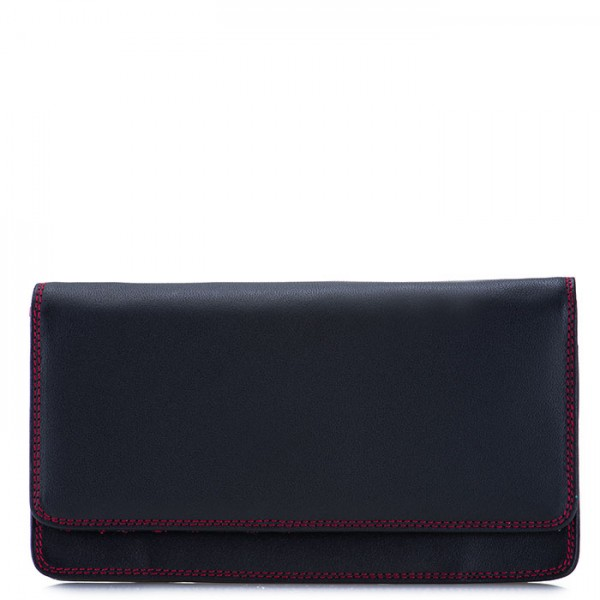 RFID Medium Matinee Wallet Black