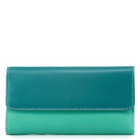 Tri-fold Zip Wallet Mint