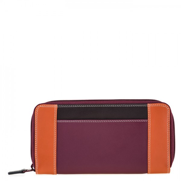 Large Zip Wallet Chianti