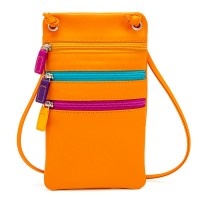 Leather Travel Neck Purse Copacabana