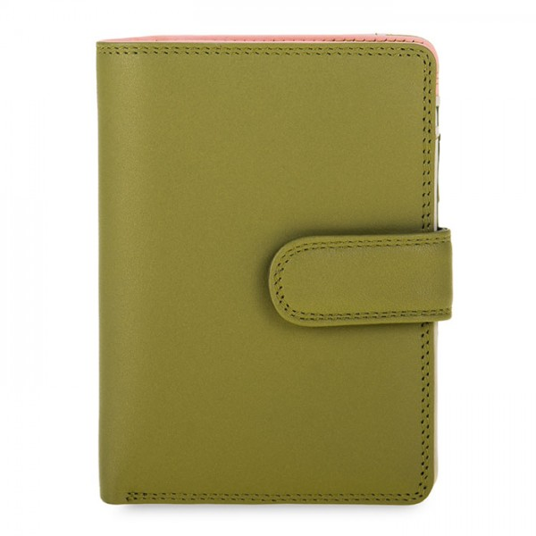 Medium Snap Wallet Olive