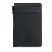 Credit Card Holder with Coin Purse Black