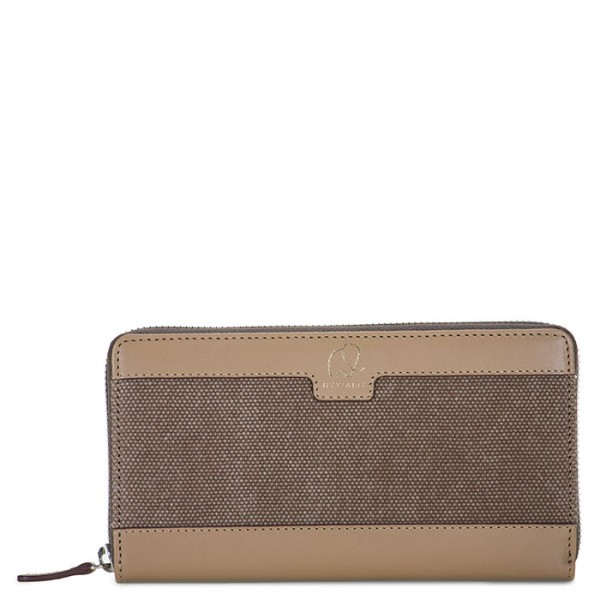 Matera Zip Around Purse Olive
