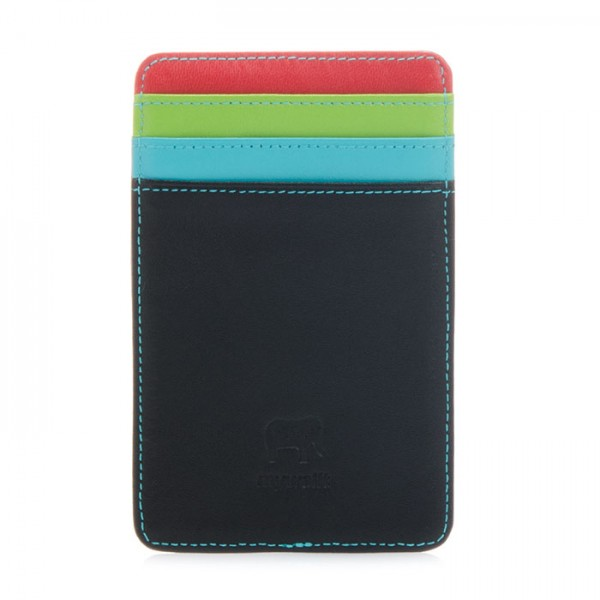 N/S Credit Card Holder Black Pace