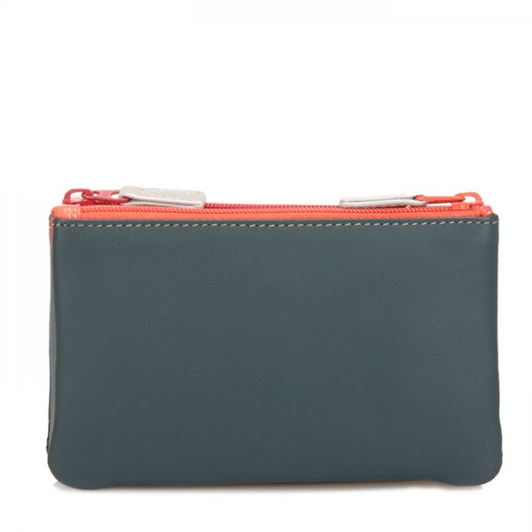 Double Zip Pouch Urban Sky