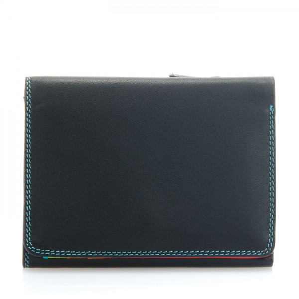 Small Tri-fold Wallet Black Pace
