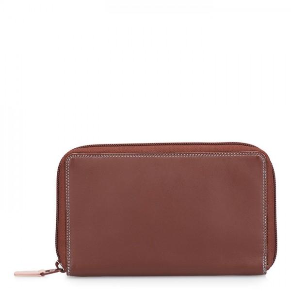Zip Around Wallet w/Phone Pocket Siena