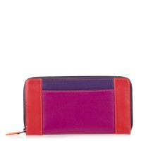 Large Zip Wallet Sangria Multi