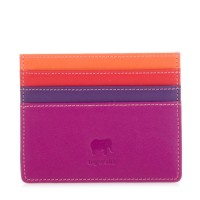 Double Sided Credit Card Holder Sangria Multi