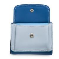 Mini Tri-fold Wallet Denim