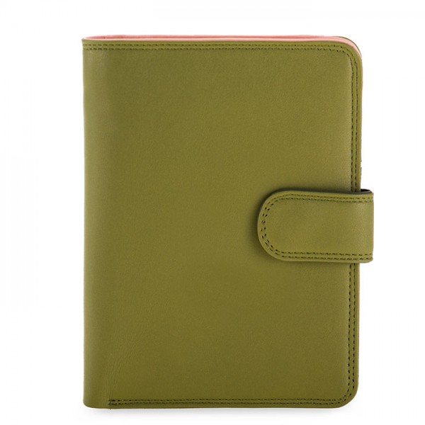 Large Snap Wallet Olive