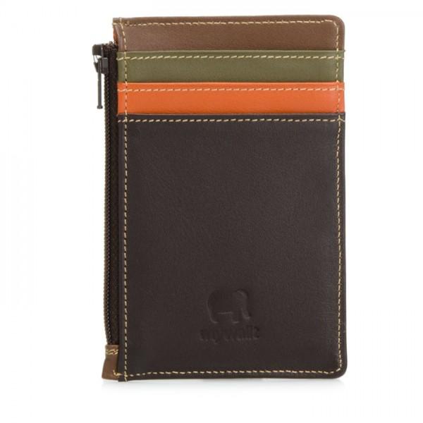 Credit Card Holder with Coin Purse Safari Multi