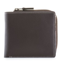 Standard Wallet w/Zip Section Mocha